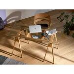 Design House Stockholm Arco työpöytä laatikolla, musta