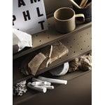 String Furniture String Pocket hylly, metalli, taupe