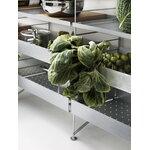 String Furniture String Outdoor shelf 58 x 30 cm, high, galvanized