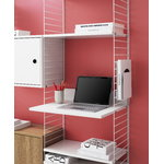String Furniture String Media shelf, dark grey