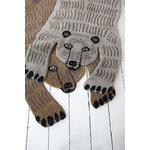 MUM's Karhu matto, vaaleanruskea
