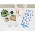 Kauniste Mökkilä tea towel, blue