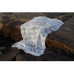 Lapuan Kankurit Sade giant towel, white - blue