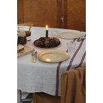 Lapuan Kankurit Usva tablecloth, 150 x 260 cm, linen - bordeaux