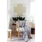 Lapuan Kankurit Villiyrtit tablecloth/throw, 150 x 200 cm, black - linen
