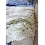 Lapuan Kankurit Watamu pöytäliina/peitto, 150 x 260 cm, keltainen - vihreä