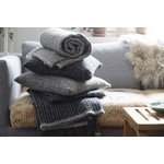 Lapuan Kankurit Metsä blanket, dark grey