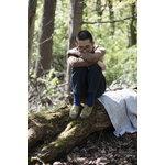 Lapuan Kankurit Metsä jättipyyhe, valkoinen - harmaa