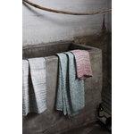 Lapuan Kankurit Terva giant towel, white - aspen green