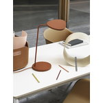 Muuto Leaf table lamp, copper brown