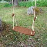 Lillagunga Lillagunga Classic Outdoor swing, walnut - beige
