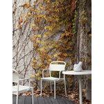 Muuto Linear Steel armchair, off white