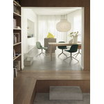 Muuto Linear Wood pöytä 260 x 90 cm, tammi