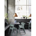 Muuto Still Cafe table 75 x 65 cm, black