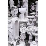 New Works Kizu pöytävalaisin, iso, valkoinen marmori