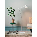 Louis Poulsen NJP floor lamp, white