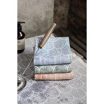 Lapuan Kankurit Paanu sauna cover 48 x 60 cm, white - cinnamon