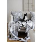 Lapuan Kankurit Aamos cushion cover 45 x 45 cm, white - grey
