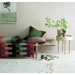 Røros Tweed Åsmund Gradient viltti, 200 x 135 cm, vaaleanpunainen - vihreä