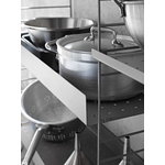 String Furniture String metal shelf, 78 x 30 cm, high, grey