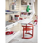 String Furniture String bowl shelf, white