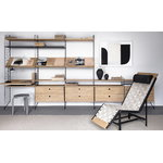String Furniture String work desk, oak