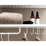 String Furniture String hooks for metal shelf, 5-pack, white