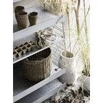 String Furniture String Outdoor shelf 58 x 30 cm, low, galvanized