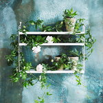 String Furniture String Pocket shelf, white