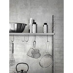 String Furniture String floor panels 200 x 30 cm, 2-pack, grey