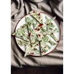 Vaidava Ceramics Earth dinner plate 26,5 cm, white
