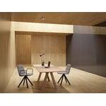 Viccarbe Trestle table 200 x 90 cm, matt oak