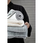 The Organic Company Big Waffle towel and blanket, sky