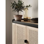 Warm Nordic Be My Guest bar cabinet, cane