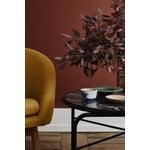 Warm Nordic Secant sohvapöytä, pyöreä, kultamusta marmori