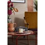 Warm Nordic Lean Back lounge chair, teak - amber