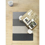 Woodnotes Fourways carpet with backing, light grey-white