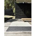 Woodnotes Pond matto, vaalea hiekka - grafiitti