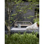 Woodnotes My Outdoor lounge chair, natural white