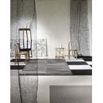Woodnotes Veil curtain 130 x 290 cm, black