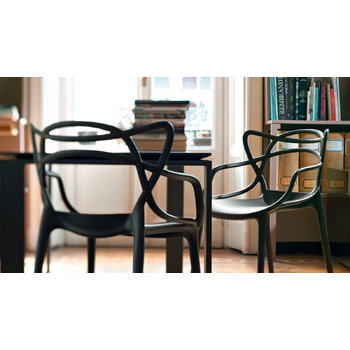 Kartell Masters chair, black