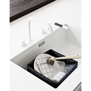 Normann Copenhagen Washing-up bowl and brush, black