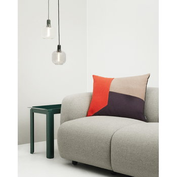 Normann Copenhagen Amp pendant, small, gold/green