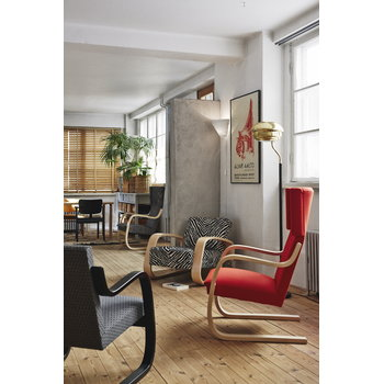 Artek Domus chair, stained black