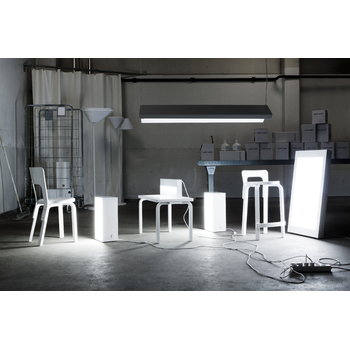 Artek Aalto K65 high chair, white
