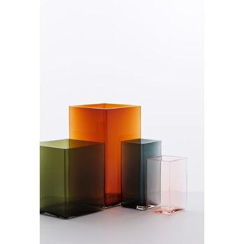 Iittala Ruutu vase, 115 x 180 mm, grey
