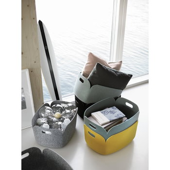 Muuto Restore storage basket, yellow