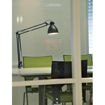 Luxo L-1 archtitect lamp, black