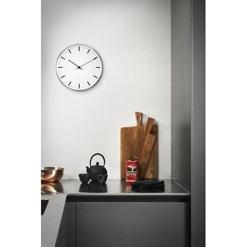 Arne Jacobsen AJ City Hall wall clock, 29 cm