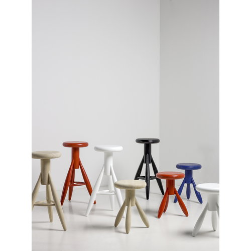 Artek Baby Rocket stool, moody blue